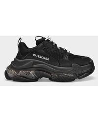 Balenciaga Sneakers Triple S - Schwarz