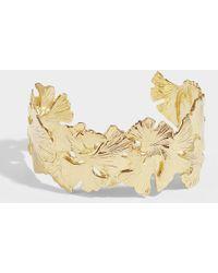 Aurelie Bidermann Tangerine Bracelet In Gold Plated Brass - Metallic