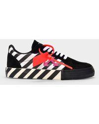 Off-White c/o Virgil Abloh Arrow Vulcanized Low Sneakers - Black