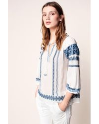 Joie - Embroidered Tunics - Lyst