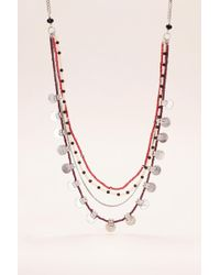 Pieces - Necklace / Longcollar - Lyst