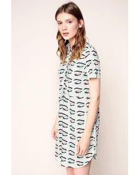 Vans - Shirt Dress - Lyst