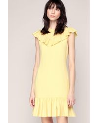 Sonia by Sonia Rykiel - Sleeveless Ruffle Dress - Lyst