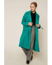 Vero Moda - Coat With Sleeve Detail - Lyst