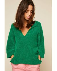 By Malene Birger - Wanlay Cropped Knitted Jumper - Lyst
