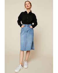 Levi's - Denim Skirt - Lyst