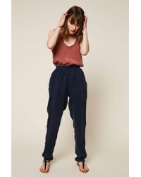 American Vintage - Straight-cut Trousers - Lyst