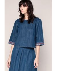 MAX&Co. - Embroidered Tunics - Lyst