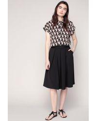 Louche   Pleated Skirt   Lyst