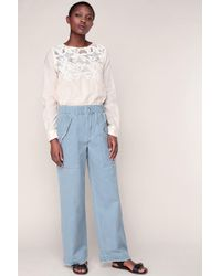 See By Chloé - Wide-legged Trousers - Lyst