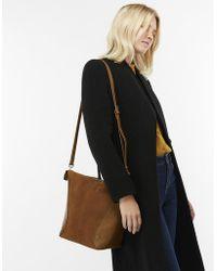Monsoon - Harper Leather Hobo Bag - Lyst