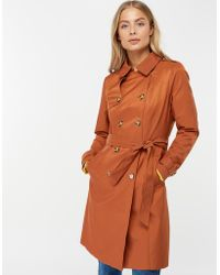 508a7f9c2f93 Monsoon Phoebe Short Padded Coat in Red - Lyst