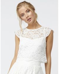 Monsoon | Delilah Lace Top | Lyst