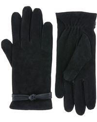 Monsoon | Sierra Suede Knot Glove | Lyst
