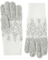 Monsoon | Fairisle Gloves | Lyst