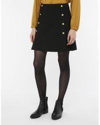 Monsoon - Margo Military Skirt - Lyst