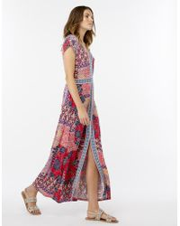 Monsoon - Hina Jersey Maxi Dress - Lyst