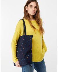 Monsoon - Colourful Stars Fold Up Shopper Bag - Lyst