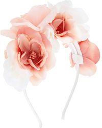 Monsoon Bouquet Flower Headband - Pink