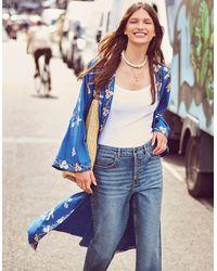 Monsoon Blue Stylish Straight Leg Jeans, In Size: 10