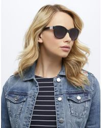 Monsoon | Cynthia Classic Preppy Sunglasses | Lyst