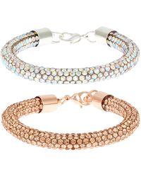 Monsoon Dazzle Bracelet Set, Decor, - Metallic