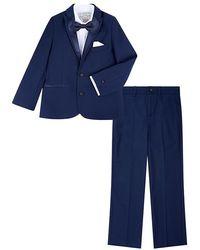 Monsoon Thomas 4pc Tuxedo Set Blue