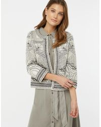 1f071b8a60 Monsoon - Ray Reversible Embroidered Jacket - Lyst