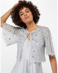 Monsoon - Doutzen Embellished Cover Up - Lyst 623f2a678