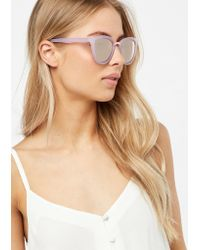 Monsoon - Marissa Metal Inlay Cat Eye Sunglasses - Lyst