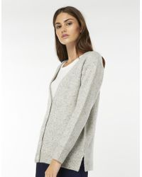 Monsoon - Perrie Pretty Nep Button Cardigan - Lyst