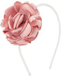 Monsoon Poppy Oversized Flower Headband - Pink