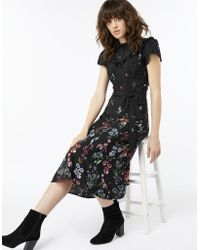 Monsoon - Rosa Print Midi Dress - Lyst