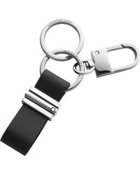 Montblanc Meisterstück Key Fob Loop With Hook - Black