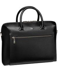 Montblanc 4810 Westside Document Case Large Business Bag Black
