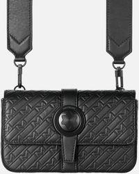 Montblanc M_gram 4810 Crossover Clutch Mit Emblem-schließe - Schwarz
