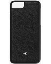 Montblanc Funda Rígida Para Teléfono Apple Iphone 8 - Negro