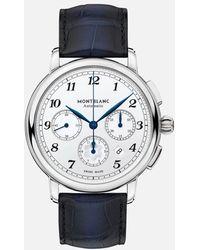 Montblanc Star Legacy Automatic Chronograph - Azul