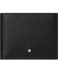 Montblanc Sartorial Brieftasche 6 cc - Schwarz