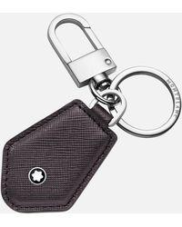 Montblanc Sartorial Schlüsselanhänger In Diamantform - Grau