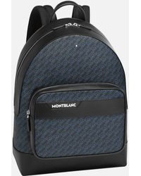 Montblanc M_gram 4810 Rucksack - Blau