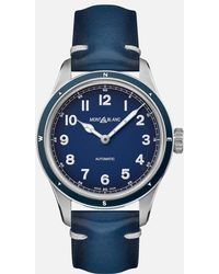 Montblanc 1858 Automatic - Blau