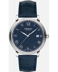 Montblanc Tradition Automatic Date - Blau