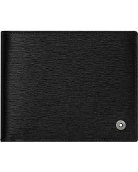 Montblanc 4810 Westside Brieftasche 8 cc - Schwarz