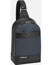 Montblanc M_gram 4810 Sling-rucksack - Blau