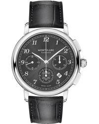 Montblanc Star Legacy Automatic Chronograph - Grau