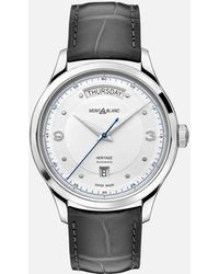Montblanc Heritage Automatic Day Date - Grau