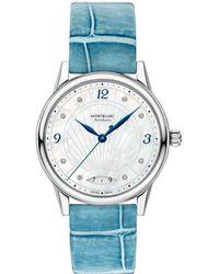 Montblanc Bohème Automatic Date 34 mm - Blau