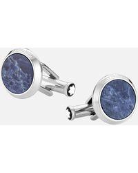 Montblanc Sartorial Manschettenknöpfe - Blau