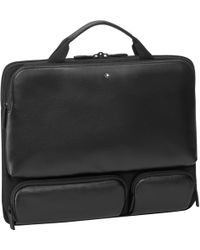 Montblanc - Laptop Case With 3 Front Pockets - Lyst